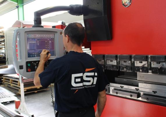ESI - Europe Solution Industrielle - laser plieuse